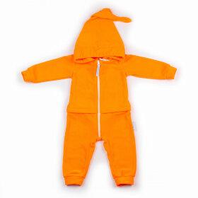 """Детский флисовый комбинезон-поддева """"Гномик, ярко-оранжевый"""""""