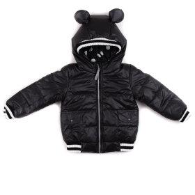 """Детская демисезонная куртка """"Микки"""" (черная)"""