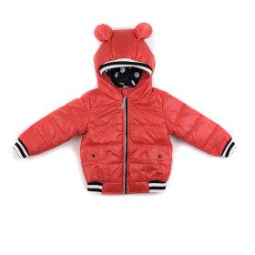 """Детская демисезонная куртка """"Микки"""" (красная)"""