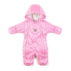 """Детский демисезонный комбинезон """"Крошка, нежно-розовый"""" для новорожденных с пинетками"""