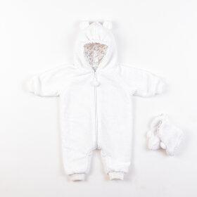 """Детский комбинезон """"Мишка"""" для новорожденных с пинетками"""