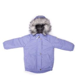 """Детская зимняя мембранная куртка """"Чудо, нежная сирень"""""""
