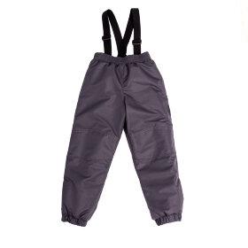 """Детские зимние мембранные брюки """"Чудо, графит"""""""
